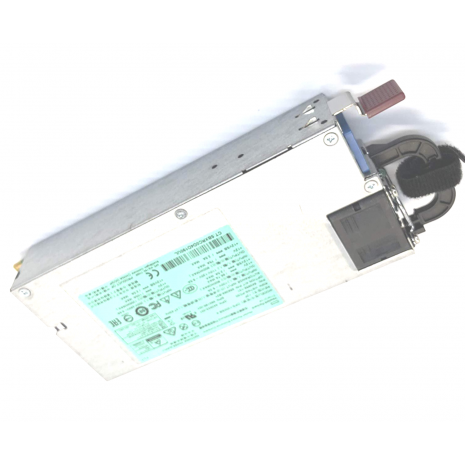 660185-001 1200-Watts Common Slot High Efficiency Platinum Plus Hot-Plug Switching Power Supply (RPS) for ProLiant DL380P/DL385 Gen8 Servers by HP (Refurbished)