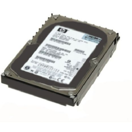 AG425B 300GB 15000RPM Fibre Channel 4GB/s Hot-Pluggable Dual Port 3.5-inch Hard Drive by HP (Refurbished)