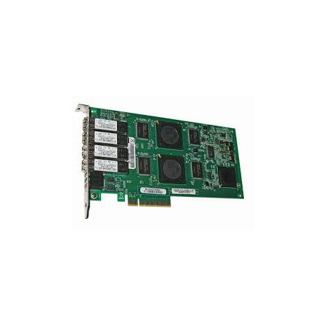 QLE2464 PCI Express 2.5GHz x8 4-Gbps Quad-Port Fibre Channel Adapter by QLogic (Refurbished)
