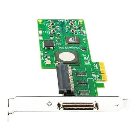 273914-B21 Smart Array 6404 256MB Cache 64-bit Ultra-320 SCSI 68-Pin 4-channel PCI-X 0/1/5/10 RAID Controller Card for ProLiant ML570 and DL580 G3 by HP (Refurbished)