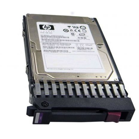 493083-001 300GB 10000RPM SAS Hot-Swappable 2.5-inch Hard Drive with Tray for ProLiant BL20p G4 by HP (Refurbished)