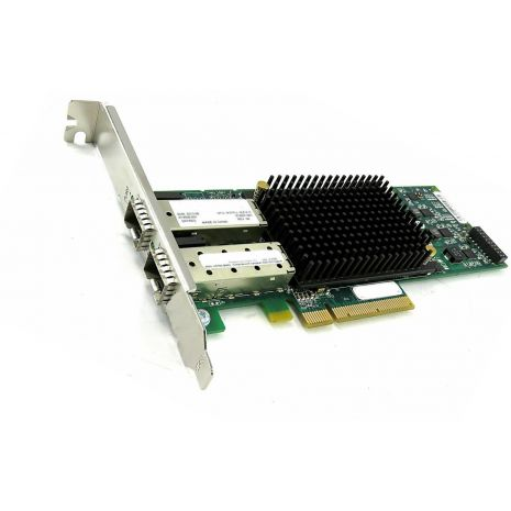 AJ763B StorageWorks 82E Dual Ports Fibre Channel 8Gbps PCI Express Short Wave HBA Controller Card by HP (Refurbished)