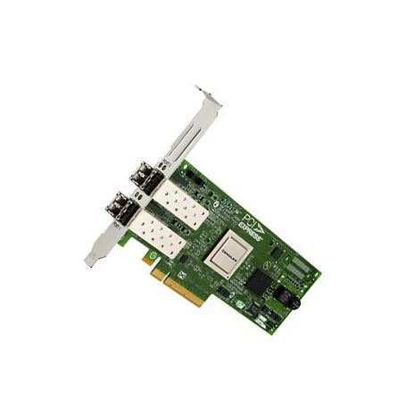 QW972A StoreFabric SN1000Q Dual-Ports 16Gbps Fibre Channel PCI Express Host Network Adapter by HP (Refurbished)