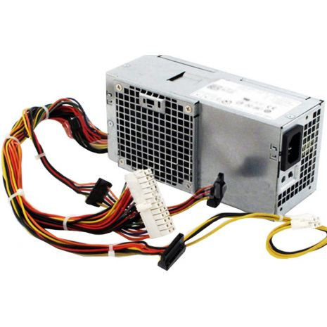 CVJ4W 250-Watts Power Supply for Vostro 200s 220s 260s 390 790 990 3010 7010 9010 Slim DT by Dell (Refurbished)
