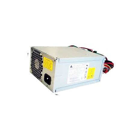 466610-001 460-Watts AC 100-240V non Hot-Plug Non-Redundant Power Supply with Active Power Factor Correction for ProLiant ML150 / ML330 G6 Server by HP (Refurbished)