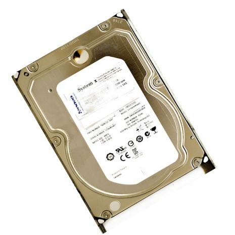 00V7105 3TB 7200RPM SAS 6.0 Gbps 3.5 64MB Cache Hot Swap Hard Drive by IBM (Refurbished)
