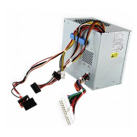 0KH624 375-Watts Power Supply for Dimension 9100 9150 Precision 380 by Dell (Refurbished)