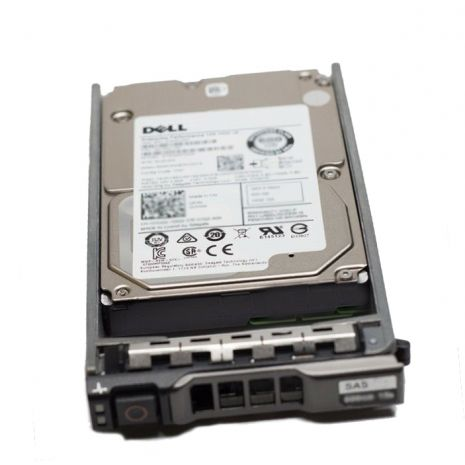 08YWH3 2.4TB 10000RPM SAS 12Gb/s 512E Self-Encrypting 256MB Cache Hot-Pluggable 2.5-inch Hard Drive with Tray for 14G PowerEdge Server by Dell (Refurbished)