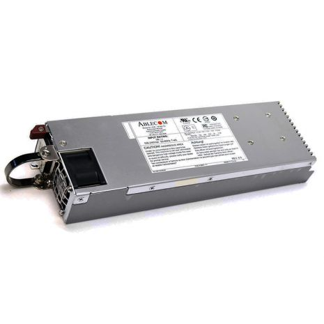 PWS-741P-1R 740-Watts 80-Plus Platinum 1U Power Supply Module with PFC and PM Bus and Backplane by Supermicro (Refurbished)