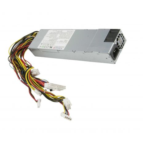 PWS-605P-1H 600-Watts 80-Plus Platinum 1U Single Power Supply with PFC by Supermicro (Refurbished)