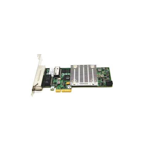 750054-001 H241 2-Ports 12Gbps SAS PCI-Express 3.0 x8 External Smart Host Bus Adapter by HP (New Bulk)